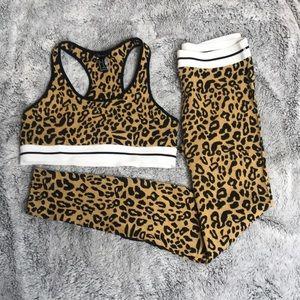 Leopard Workout Set forever 21